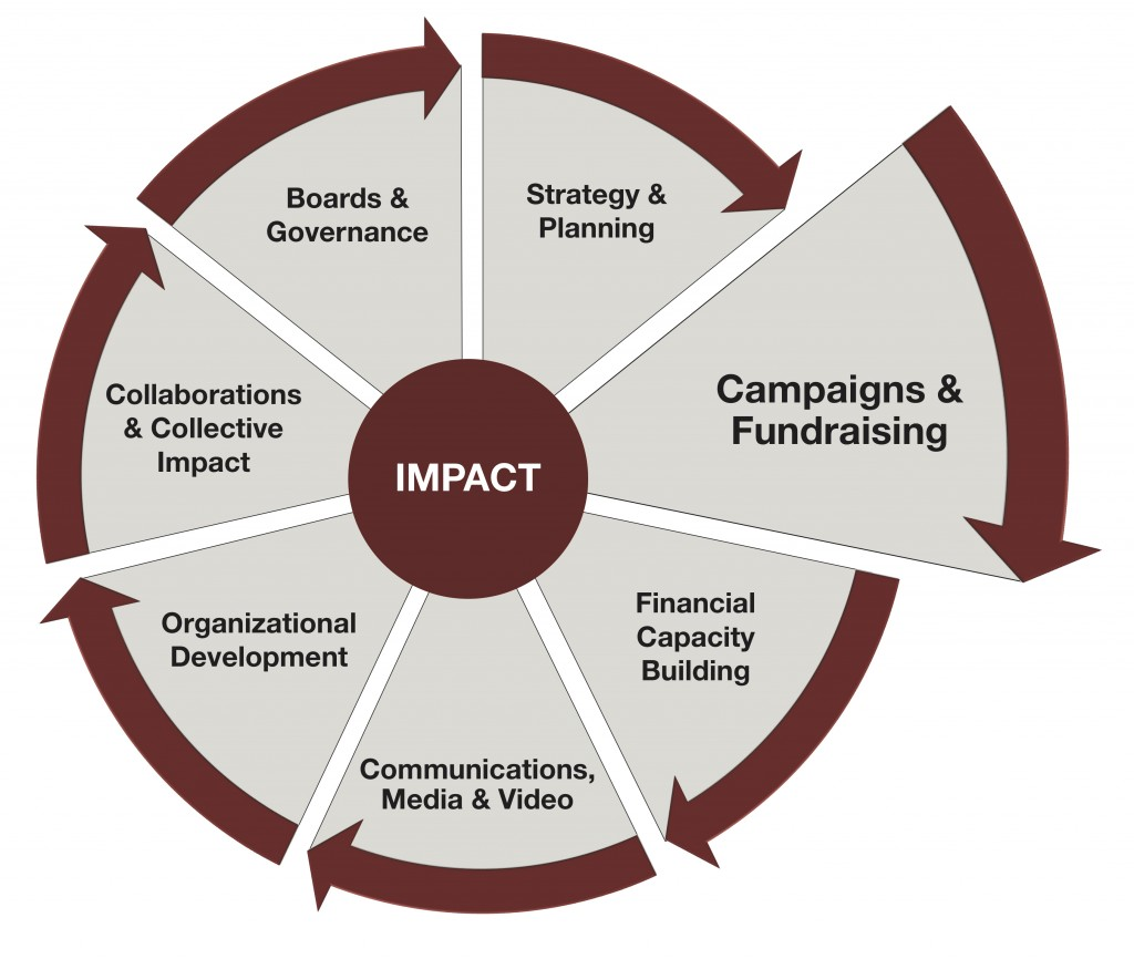 Impact Wheel 2019 - Campaigns and Fundraising